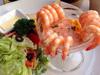 美味的鲜虾沙拉