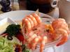 美味鲜虾沙拉