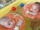 持续高温婴儿游泳馆消暑