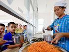 开学在即融安为山区孩子提供免费午餐