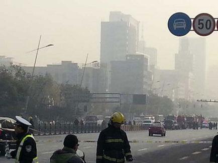 山西警方:省委附近发生数起爆炸(图)