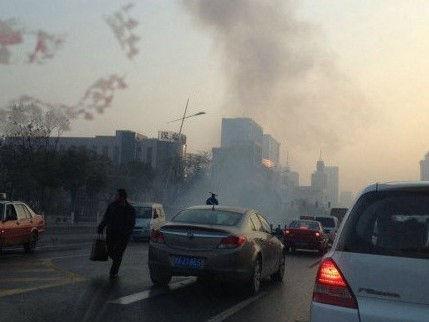 山西省委附近爆炸案已致7伤(图)