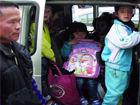田阳查获3辆超载面包车车上都是学生(图)