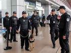 南宁机场增加警力提高安全警戒及检查(图)