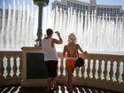 美国西部气温高游客遭酷暑历练
